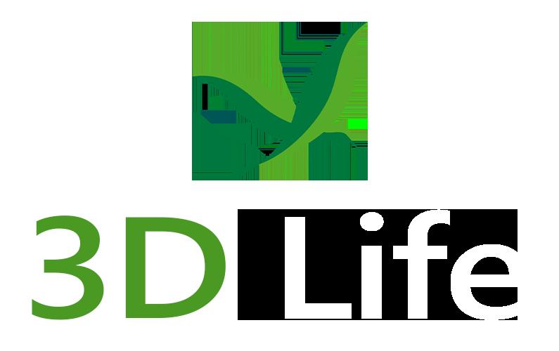 logo 3d life